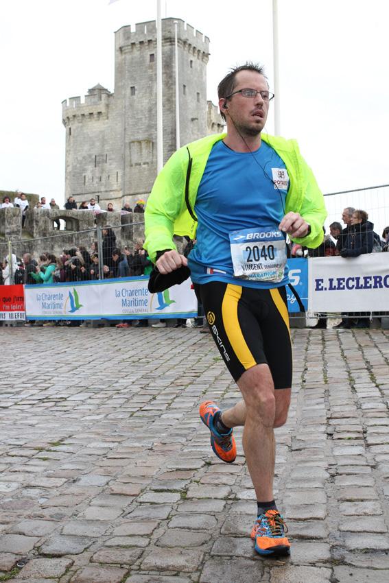 QuantiParts congratulates Marathon runner