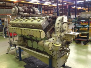 Reconditioning of UD 30 railway Engines