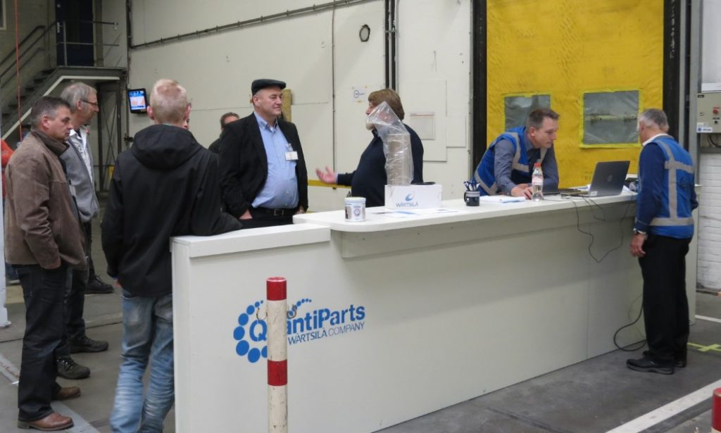 QuantiParts Opens Pick-Up and Sales Counter