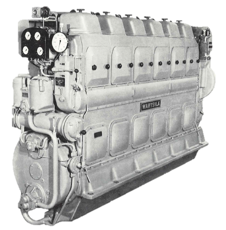 Actualmente, QuantiParts es responsable de los motores Vasa 14 y 24